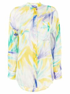 Forte Forte multicoloured silk shirt - Yellow