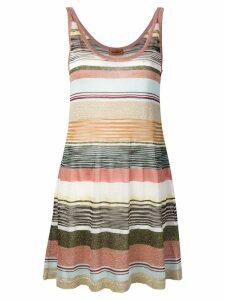 Missoni striped glitter dress - Brown