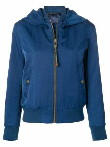 Mr & Mrs Italy embroidered bomber jacket - Blue