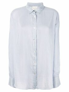 Forte Forte crinkled shirt - Blue