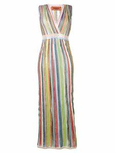 Missoni striped glitter dress - Blue