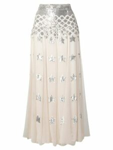 Temperley London Starlet skirt - Neutrals