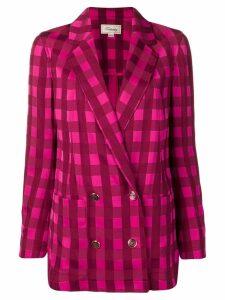 Temperley London Stirling jacket - Pink