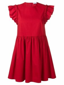 Red Valentino stretch compact poplin dress
