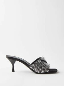 Staud - Moreau Macramé & Pvc Bucket Bag - Womens - Brown Multi