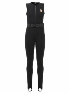 Staud - Moreau Macramé And Leather Bucket Bag - Womens - Brown Multi