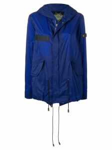 Mr & Mrs Italy waterproof mini parka - Blue