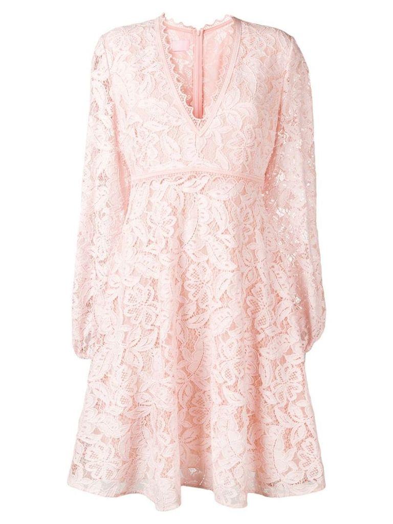 Giamba floral lace dress - Pink