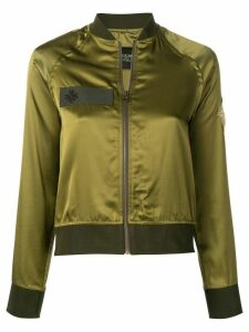 Mr & Mrs Italy contrast trim bomber jacket - Green