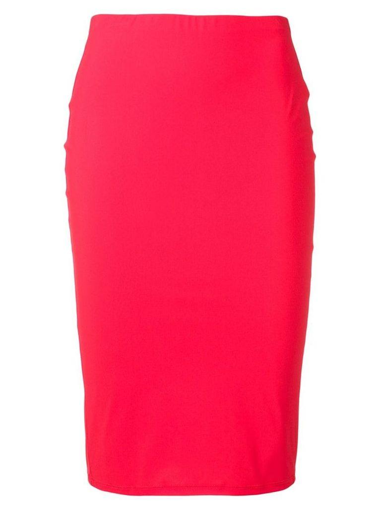 Patrizia Pepe tube skirt - Red