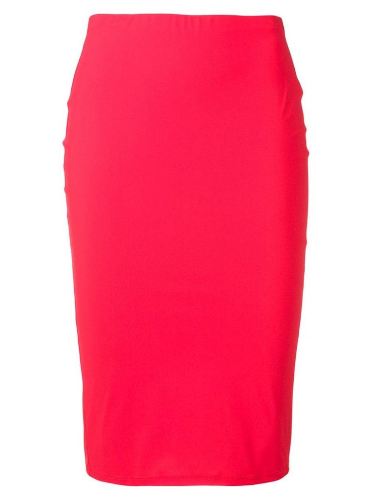 Patrizia Pepe tube skirt - Red