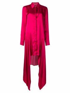 Just Cavalli pink shirt dress