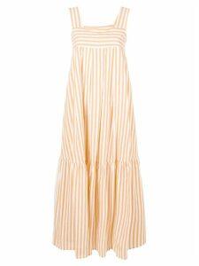 Roberto Collina long striped dress - Yellow
