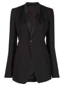Rick Owens soft blazer - Black