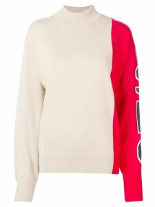 See By Chloé two tone jumper - Neutrals