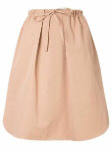 Jil Sander Navy waist tie skirt - Pink