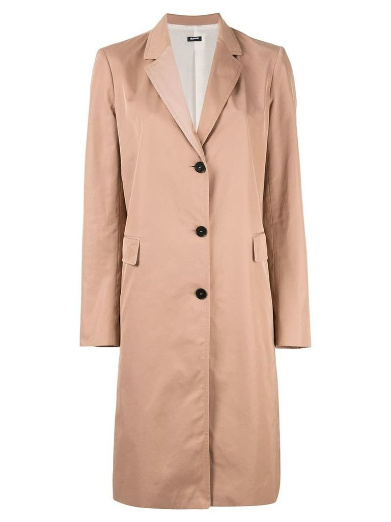 Jil Sander Navy Tailored blazer coat - Brown