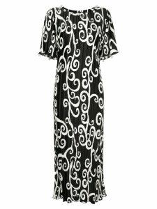Romance Was Born Fortuny Vine pearl dress - Black