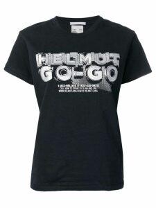 Helmut Lang go-go print T-shirt - Black