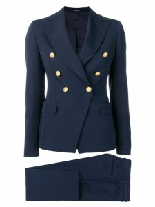 Tagliatore navy formal blazer - Blue