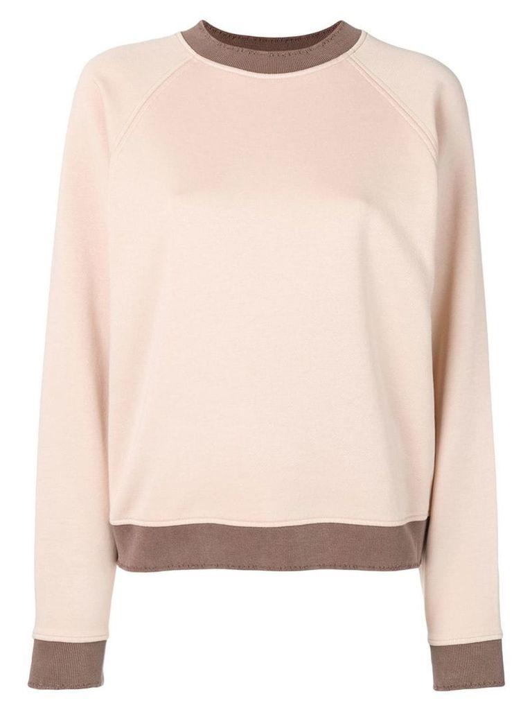 Acne Studios raglan sleeve sweatshirt - Pink
