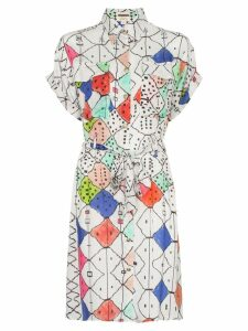 Chufy Soufiane button-down belted shirt dress