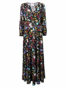 Ultràchic Cowgirl printed maxi dress - Black