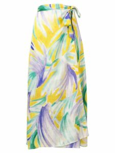 Forte Forte sarong-style skirt - Yellow