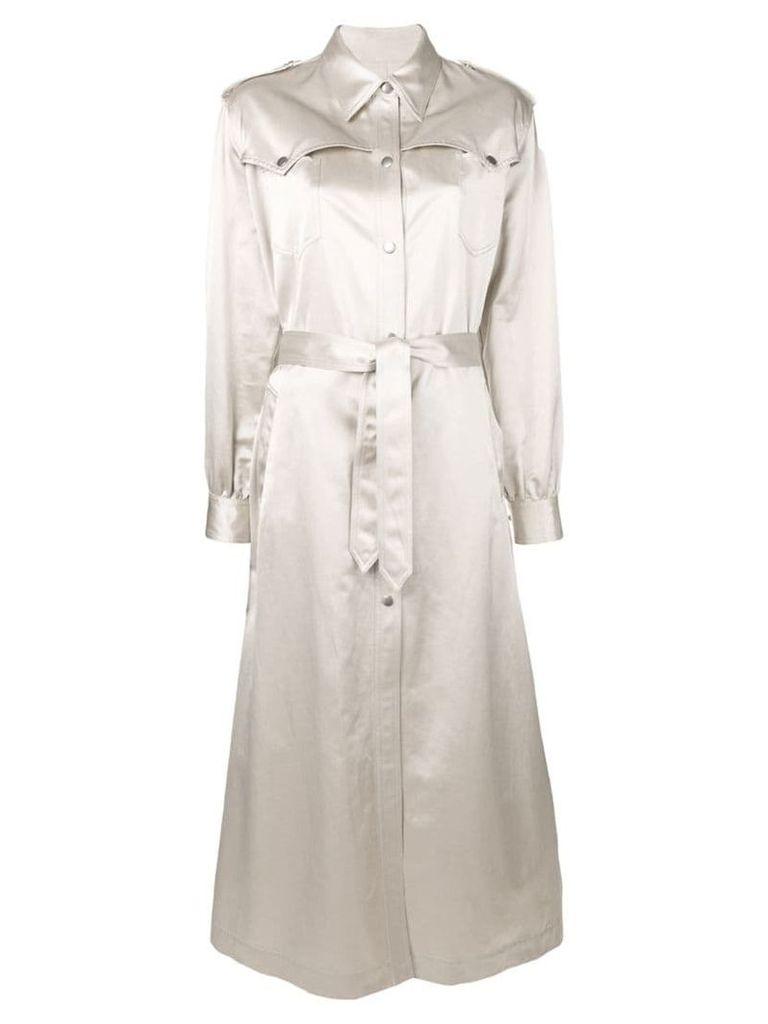 Mm6 Maison Margiela classic raincoat - Neutrals