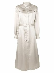 Mm6 Maison Margiela classic raincoat - Neutrals