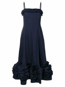 Molly Goddard navy Susie dress - Blue