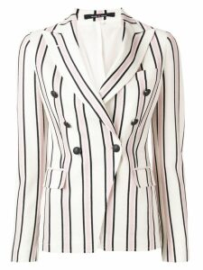 Tagliatore striped double-breasted blazer - Neutrals