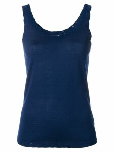 Barrie scoop neck vest top - Blue