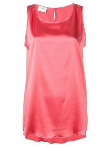 Snobby Sheep scoop neck vest top - Red