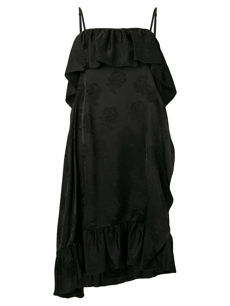 Kenzo tiered dress - Black