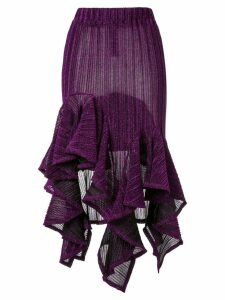 Romance Was Born sparkle flutter skirt - Purple