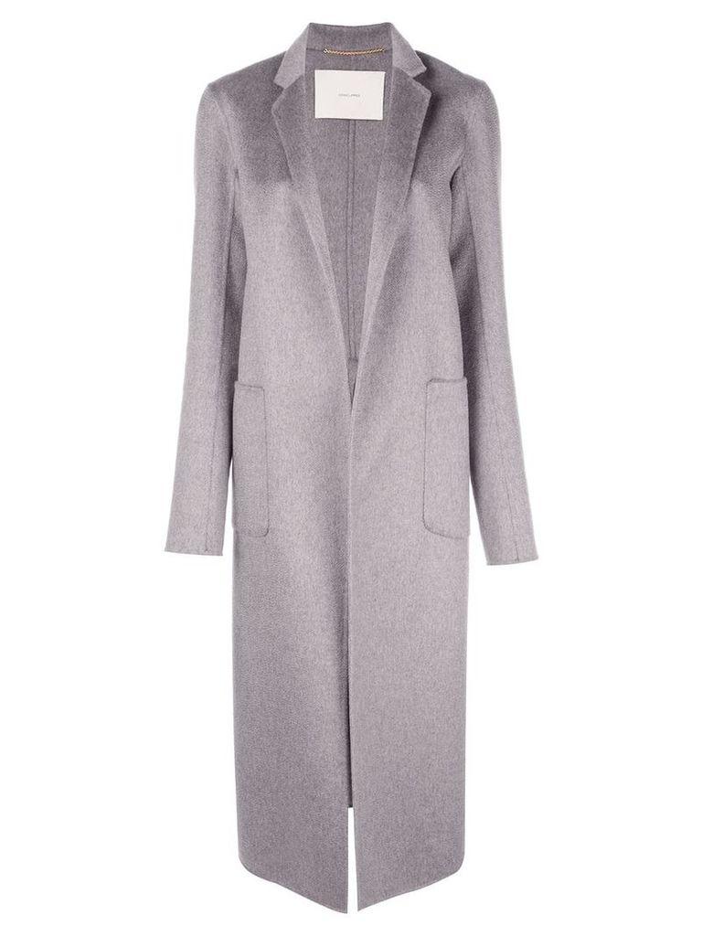 Adam Lippes open-front coat - Grey
