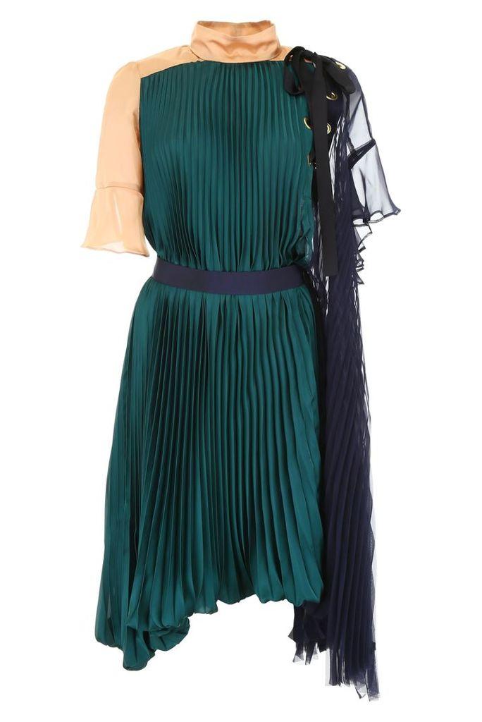 Sacai Color Block Dress
