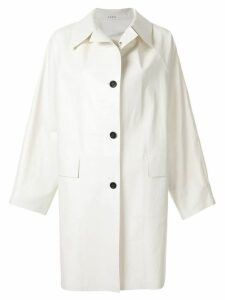 Kassl Editions classic trench coat - White