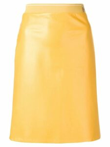 Prada leather skirt - Yellow