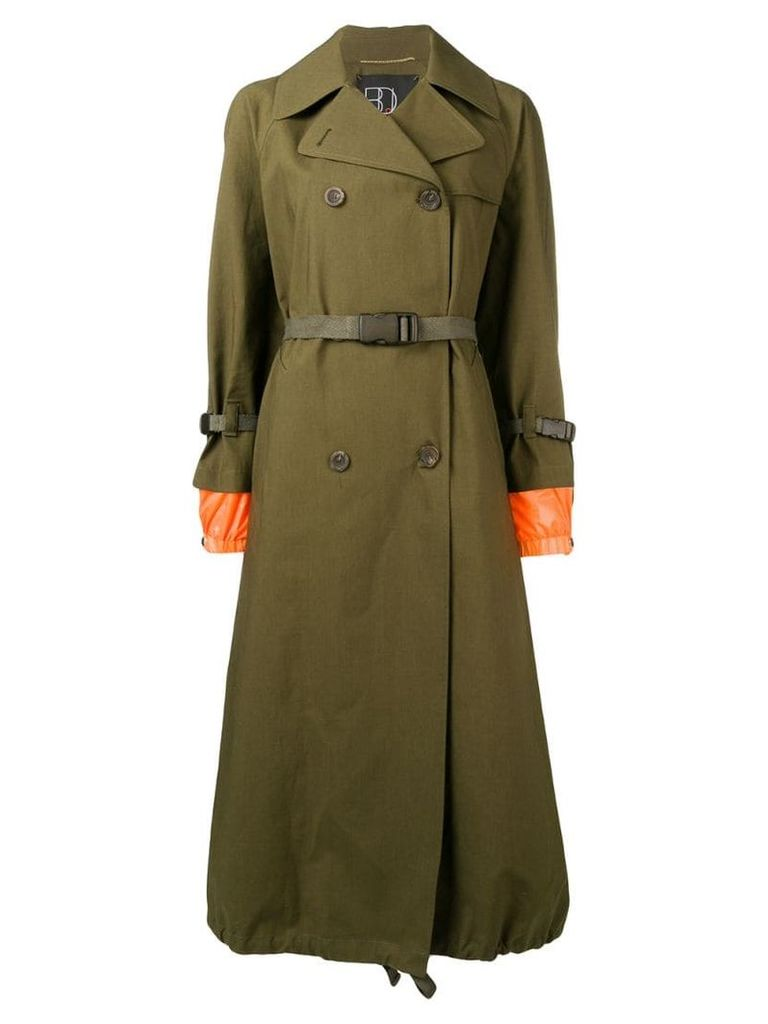 Bazar Deluxe double-breasted coat - Green
