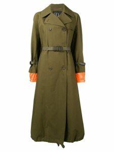 Bazar Deluxe double-breasted coat - Green