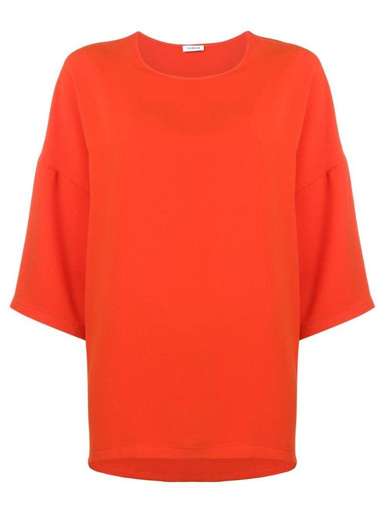 P.A.R.O.S.H. loose fit blouse - Orange