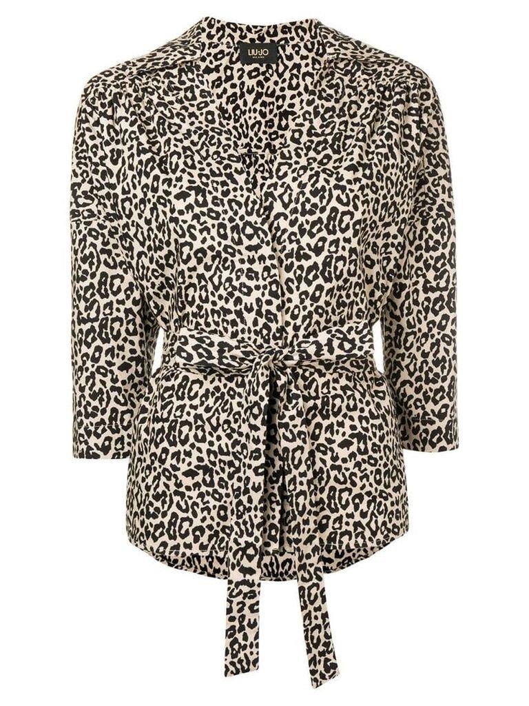 Liu Jo leopard print shirt - Neutrals
