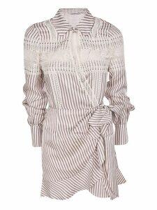self-portrait Self-portrait Striped Dress Shirt