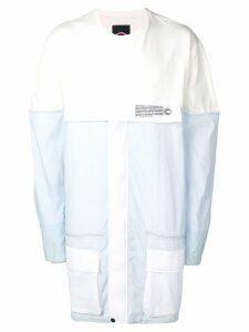 Colmar Colmar A.G.E. by Shayne Oliver sweatshirt coat - White
