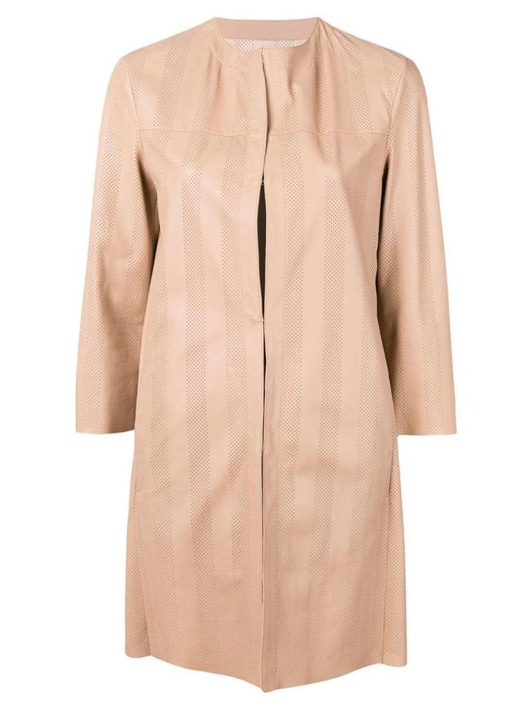 Drome single breasted coat - Neutrals
