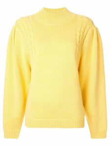 Emilia Wickstead knitted jumper - Yellow