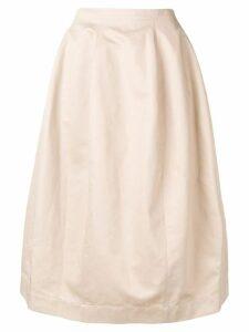 Marni A-line skirt - Neutrals