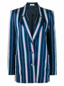 Nina Ricci striped blazer - Blue